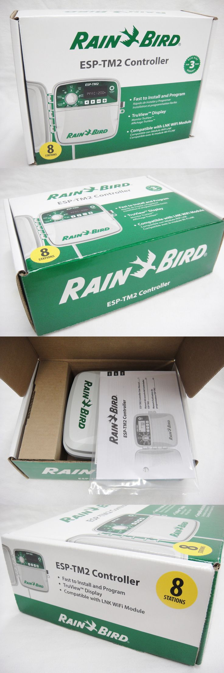 Watering Timers and Controllers 75672: Rain Bird Esp-Tm2 Sprinkler Controller Clock 8 Stations Wifi Compatible New -> BUY IT NOW ONLY: $84.99 on eBay!