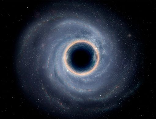 How Black Holes Are Like Whirlpools
