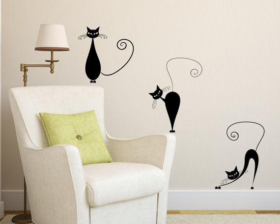 Adorable cats by Fieke on Etsy