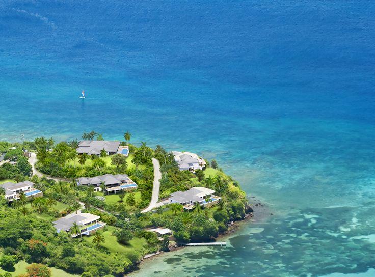 Laluna Estate, 7 luxury villas on the Caribbean island of Grenada