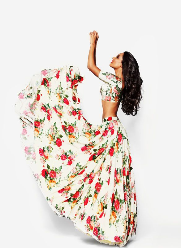 modelmoiselle - Lisa Haydon for Armaan by Sunaina Puri Winter 2014-2015 Collection