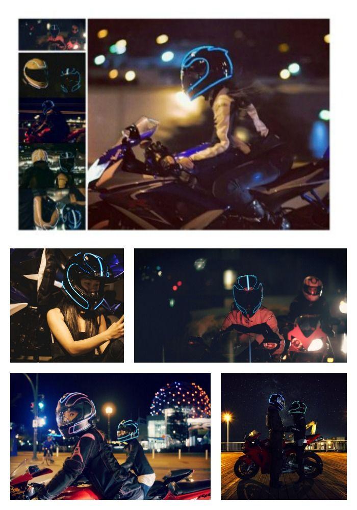 Motorcycle Helmet Accessories - Lightmode