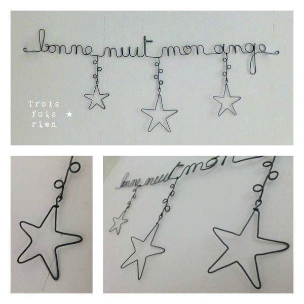 Wire garland ideas to adapt for Christmas.