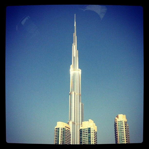 Dubai in دبي .. the city which teach you to keep moving on to be #1