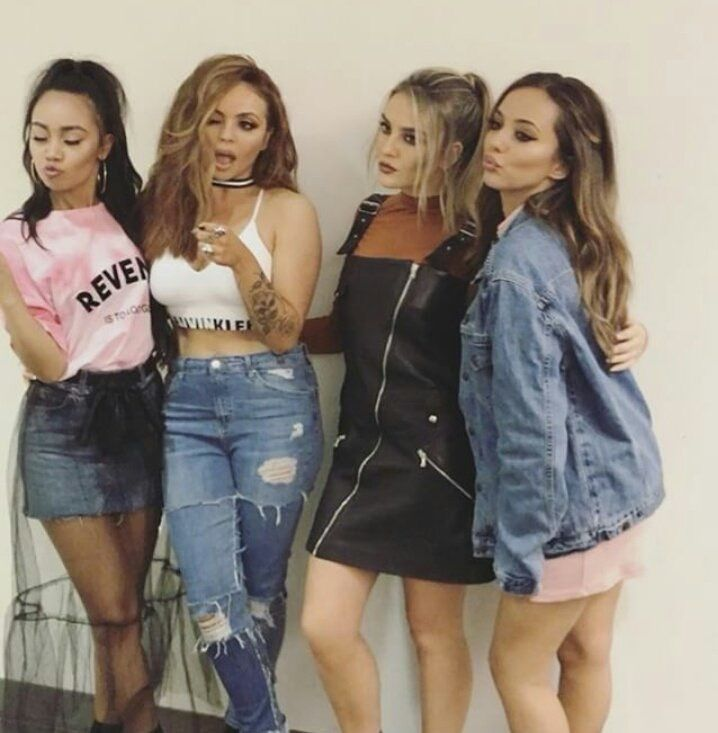just keep blowing kisses ladies we love it  little mix