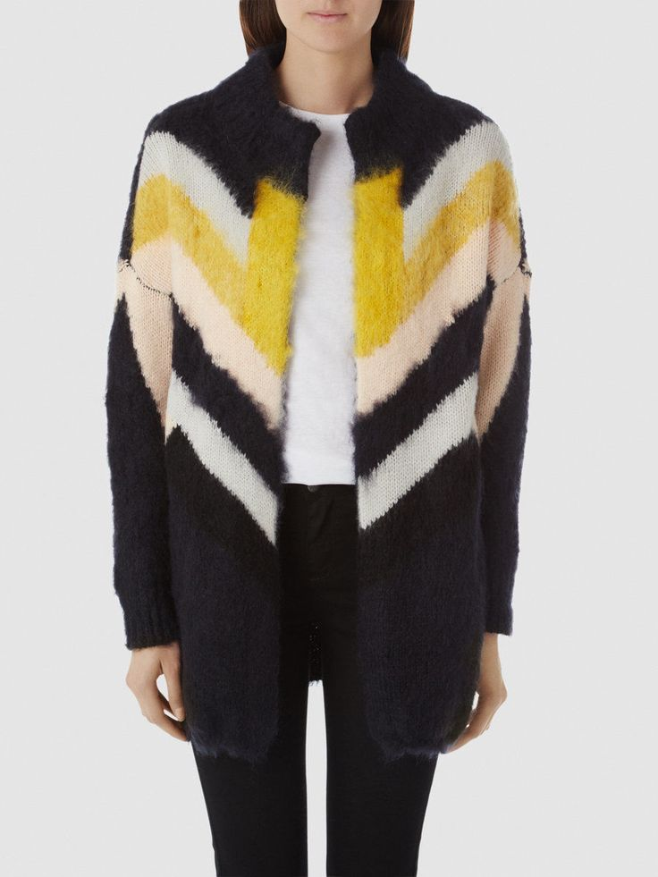 #SelectedFemme Helga Cardigan  Shop now >> atticwomenswear.com/collections/selected-femme