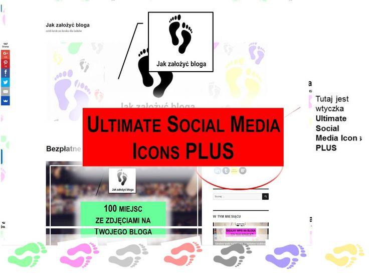 Wtyczka Ultimate Social Media Icons Plus