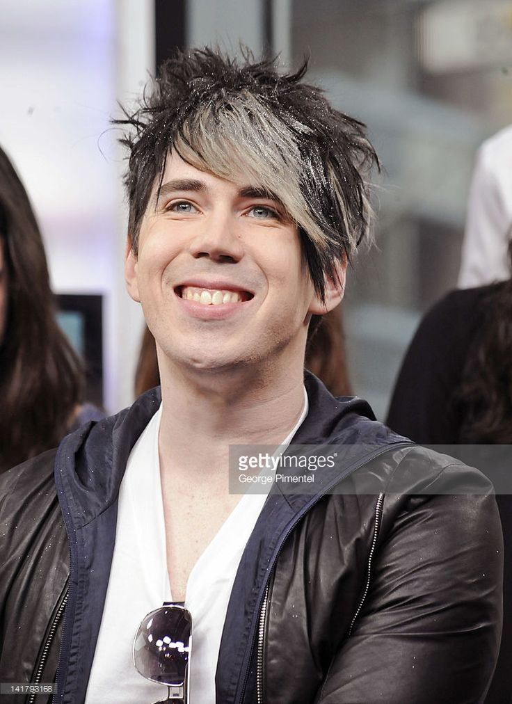 Singer Josh Ramsay from the band Marianas Trench visits MuchMusic at...
