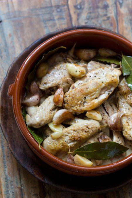 Pollo al Ajillo (Chicken with Garlic)