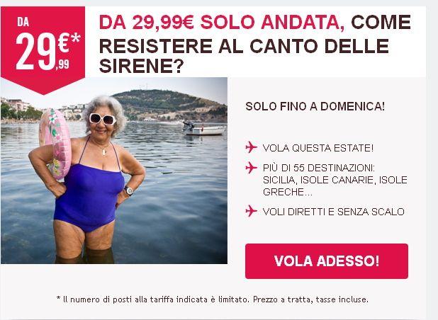VOLA IN ITALIA ED EUROPA CON VOLOTEA A PARTIRE DA 29,99 € – FINO ALL'8 GIUGNO 2014