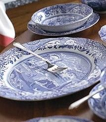 Spode Blue Italian dinnerware & 18 best Italian dinnerware images on Pinterest | Flatware Dinner ...