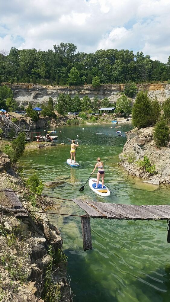 This Swimming Spot Has The Clearest, Most Pristine Water In Kentucky