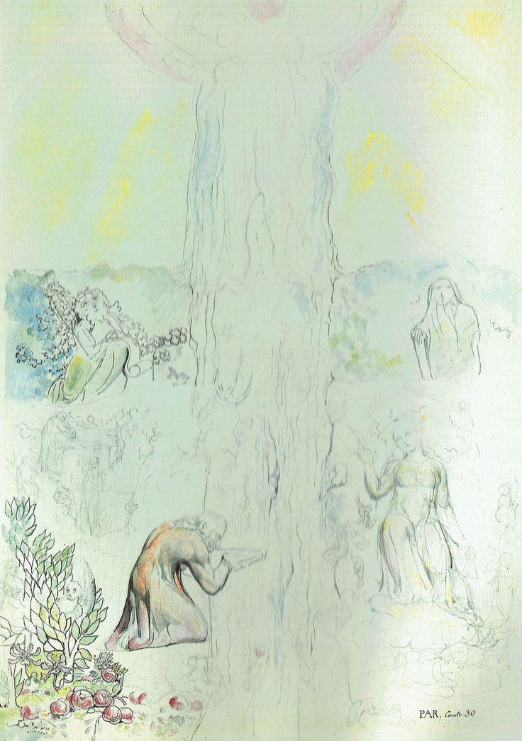 101-Giunto nell'Empireo, Dante beve l'acqua del fiume di luce