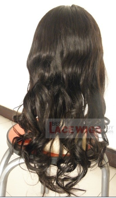 Buy best lace wigs gsw 301,lace wigs with bang,cheapest remy hair,wigs store,full lace wigs under 100 from best lace wigs buy!accept paypal!virgin yaki, natural colour,chinese virgin glueless full lace wig [gsw301]malika haqq!