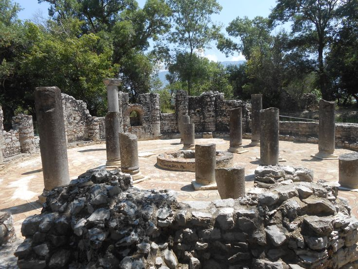 The 6th Century Baptistery at Buthrotum (Butrint), Albania....so very peaceful.