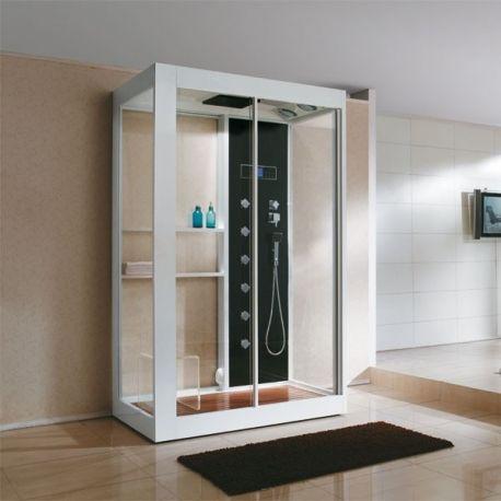 Les 25 meilleures id es de la cat gorie cabine de douche hammam sur pinterest - Grande cabine de douche ...