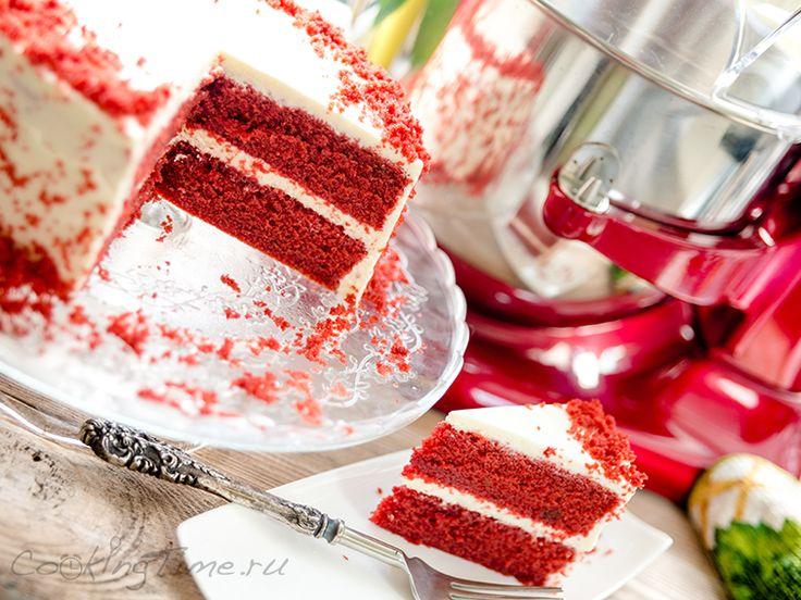 Торт Красный Бархат - Red Velvet Cake