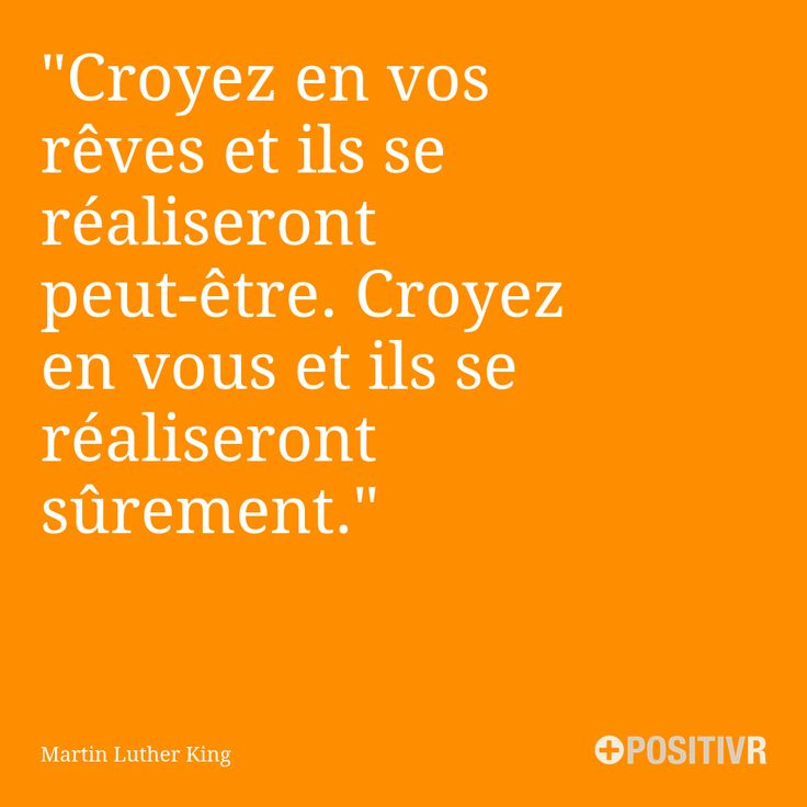 """""""Croyez en vos rêves et ils se réaliseront peut-être. Croyez en vous et ils se réaliseront sûrement."""" Martin Luther King #estime #estimedesoi #foi #rêve #rêves #motivation #citation #citations #france #quote #followme"""