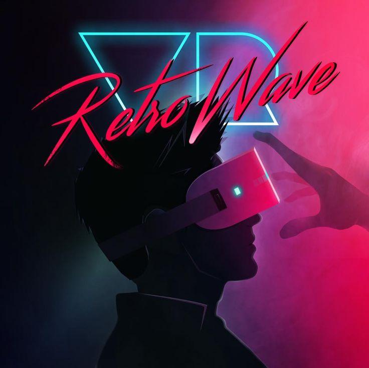 """""""VR Retro Wave"""" by Abraham Benzecri #80s"""