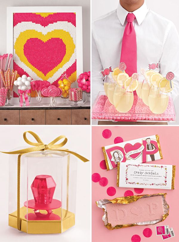 AMAZING Candy Themed Bridal Shower.  WOW--SO SO cute!!!  I really like this theme done this style...very classy!!  S.C.
