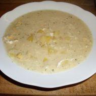 Fotografie receptu: Hustá květáková polévka s vejci a brambory