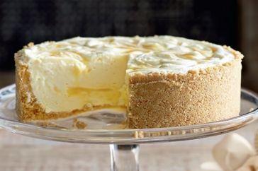 Lemon Ripple Cheesecake Recipe - Taste.com.au
