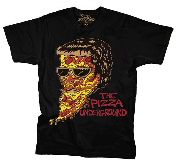 The Pizza Underground T-shirt by killeracid on Etsy