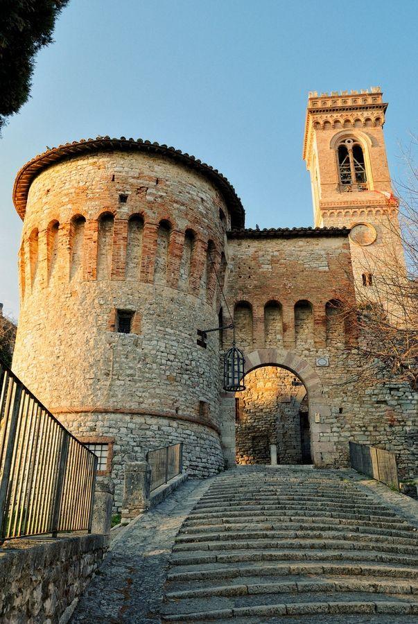 Corciano Castle, Perugia, Umbria
