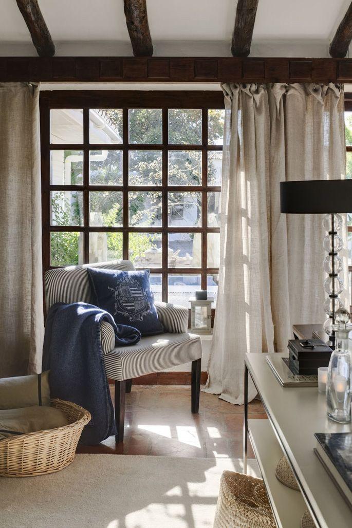 Casual Linen Drapes! Home Design DecorDesign ...
