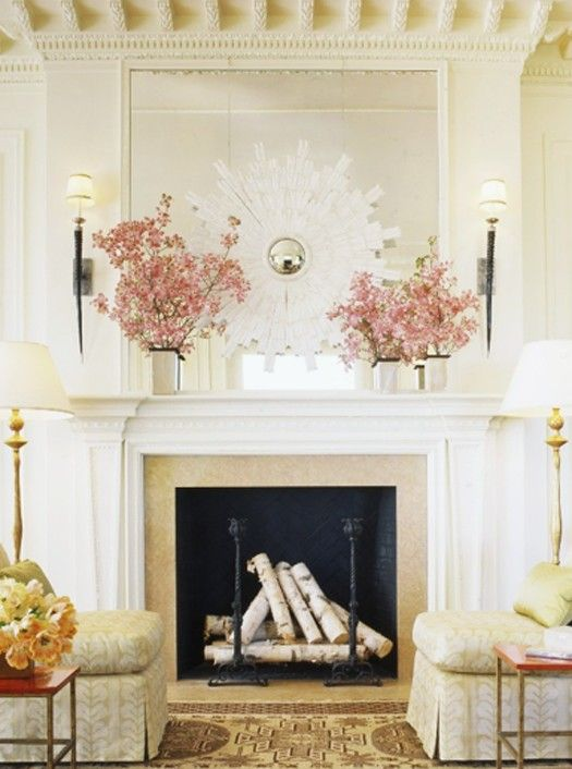 17 best images about mirror mantle on pinterest. Black Bedroom Furniture Sets. Home Design Ideas