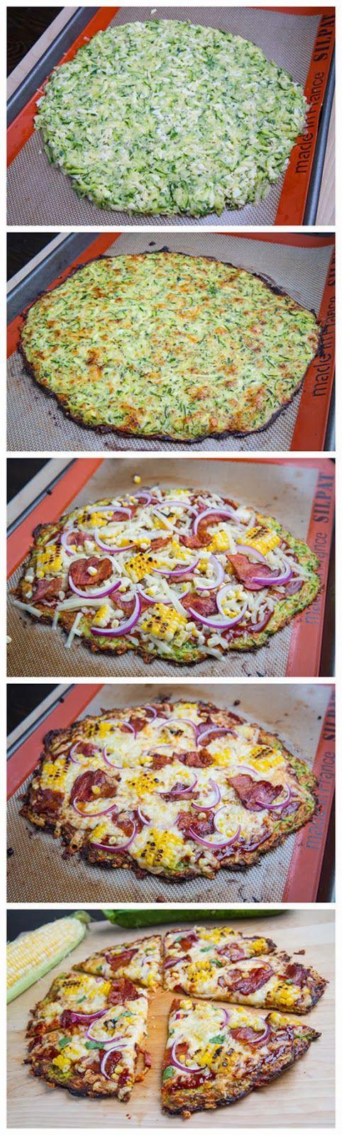 Zucchini Pizza Crust ~  4 cups zucchini, 1/2 cup mozzarella,  1/4 cup parmigiano reggiano (parmesan), 1 egg, 1 teaspoon oregano or Italian seasoning, salt and pepper to taste