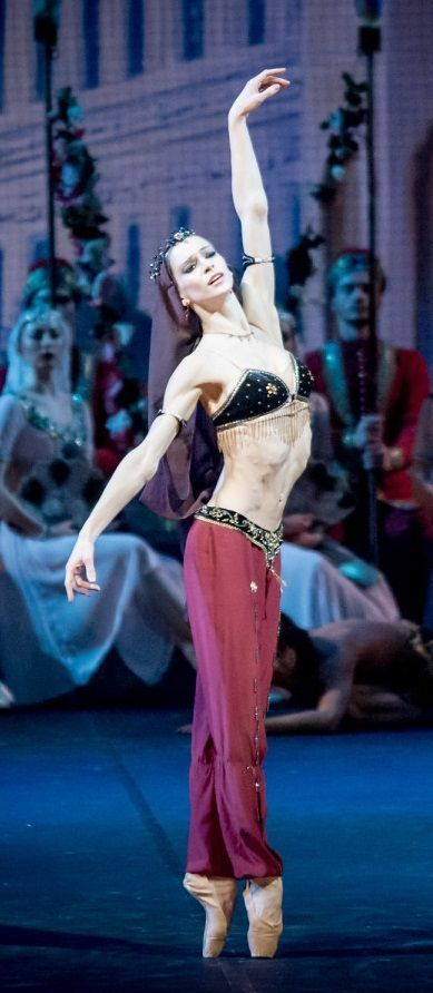"<<Polina Semionova as Nikiya in ""La Bayadére"" # Photo © Jack Devant>>"