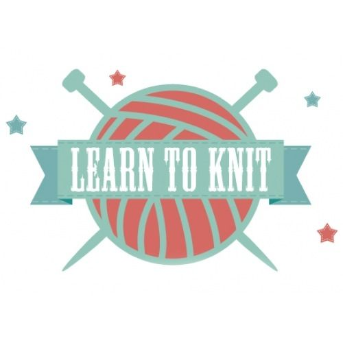 Learn to knit Knitting Pinterest