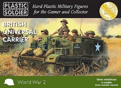 Flames of War 113523: Plastic Soldier Company: 15Mm British Universal Carrier (9) With Crew Figures -> BUY IT NOW ONLY: $30.96 on eBay!