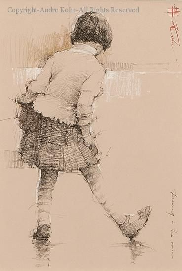 Dancing in the Rain - Conte by Andre Kohn
