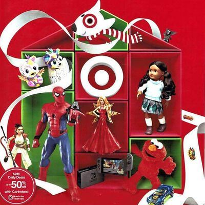 View the Target Toy Book 2017 Ad with Target deals and sales