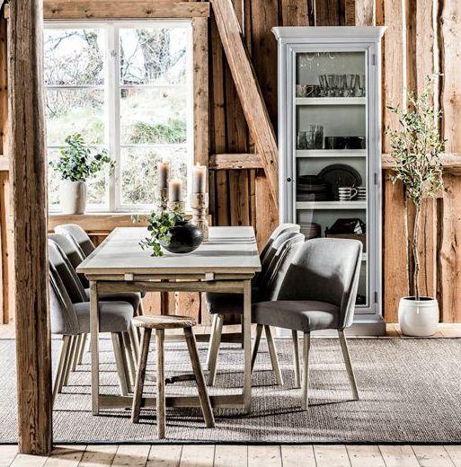 Home&Cottage - Veronica stol Concrete bord Dixie skap
