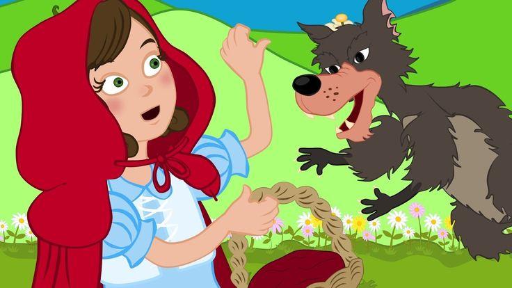 Kırmızı Başlıklı Kız masal ve şarkıları   Çizgi Film çocuk masalları ve ...