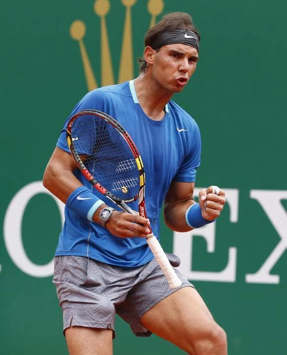 300th win for Rafael Nadal on clay. Monte Carlo 2014