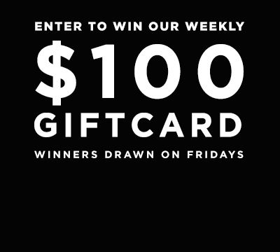 <small> WIN A $100 GIFT CARD