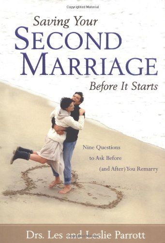 Saving Your Second Marriage Before It Starts by Les and Leslie Parrott,http://www.amazon.com/dp/0310207487/ref=cm_sw_r_pi_dp_NKSfsb01BXMXK7PW