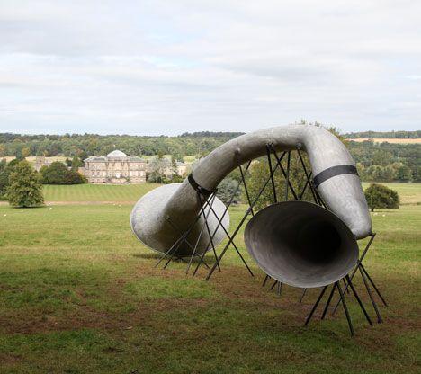 The Hear Heres by Studio WeaveInstallations Artsculptur, Design Inspiration, Installations Art Sculpture, Green Buildings, Studios Weave, Nature Sounds, Studios Weaving, Curves Arches, Innovation Design