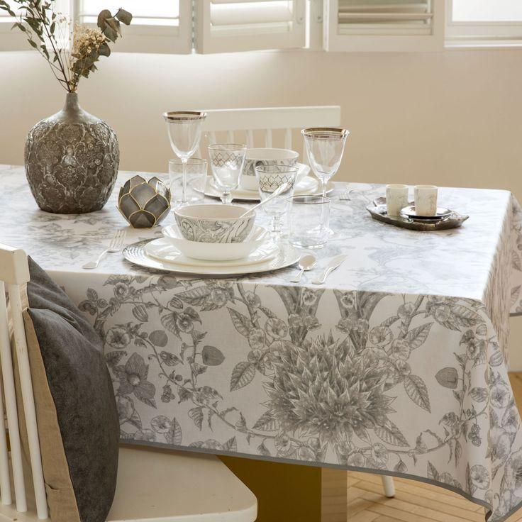 Mantel Plastificado Flores y Moras - Manteles - Mesa | Zara Home España