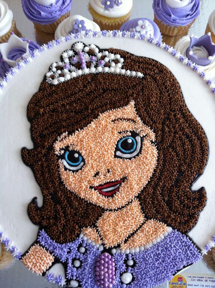 Princess Sofia Cake cakepins.com
