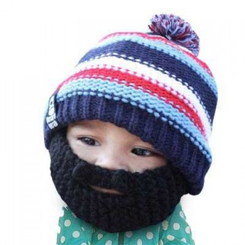 """Beard Hat """"Kid-Gromm Head"""""""