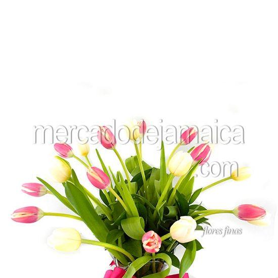 Floreria df Sur Tulipanes Alma y Corazón !  Envia Flores