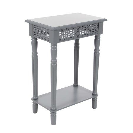 Home Wooden Side Table Grey Side Table Wood End Tables