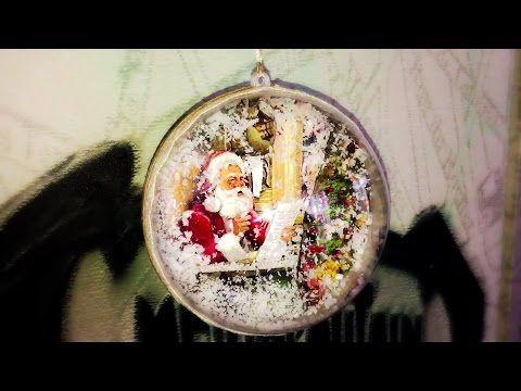 Decoupage Tutorial Christmas Ball - Ντεκουπάζ Χριστουγεννιάτικη Μπάλα - Diy Step By Step - YouTube
