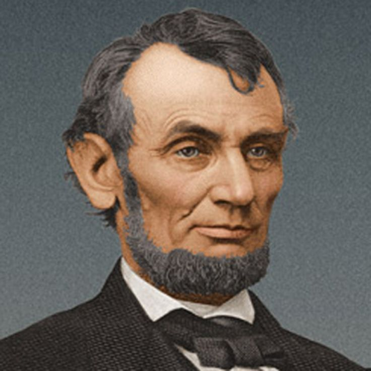 Abraham Lincoln was the 16th president of the United States. He preserved the Union during the U.S. Civil War and brought about the emancipation of slaves.