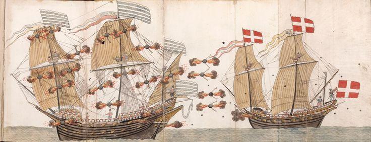 GaleonDanesMars-Durante años, los cazadores de tesoros y arqueólogos han buscado en los alrededores de Marte sin éxito. Más tarde, ya en el año 2.011, un grupo de buzos redescubrió la nave. A pesar de que la proa del barco fue destruida en la batalla, el resto de la nave se encuentra sorprendentemente intacta después de más de 450 años bajo el agua.
